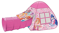 Детская игровая палатка Играем вместе Winx с тоннелем / GFA-TONWX01-R -