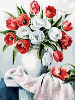 Картина по номерам БЕЛОСНЕЖКА Красные и белые / 070-AS -