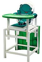 Стульчик для кормления Сенс-М Babys Froggy (зеленый) -