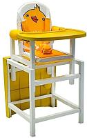 Стульчик для кормления Сенс-М Babys Ducky (желтый) -
