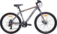 Велосипед AIST Rocky 1.0 Disc (21, графитовый/бронзовый) -