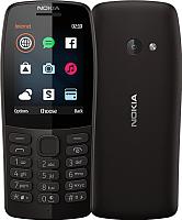 Мобильный телефон Nokia 210 Dual Sim / TA-1139 (черный) -