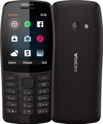 Мобильный телефон Nokia 210 Dual Sim / TA-1139 (черный)