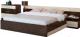 Комплект мебели для спальни Горизонт Мебель Уют-1 (венге/дуб) -