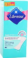 Прокладки ежедневные Libresse Long Multi повышенной впитываемости (28шт) -