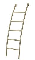 Лестница для кровати Горизонт Мебель Радуга (металл) -