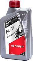Моторное масло Cepsa Moto 2T Urban Pro / 514214191 (1л) -