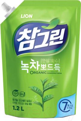 Средство для мытья посуды Lion Зеленый чай (1.2л)