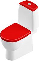 Унитаз напольный Sanita Luxe Best Color Red SL DM BSTSLCC07110522 -