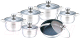 Набор кухонной посуды Bollire BR-4006 -