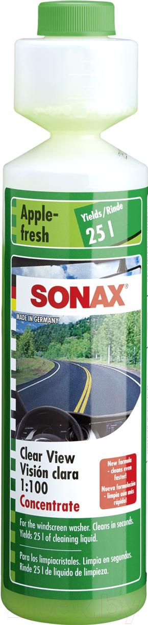 Купить Жидкость стеклоомывающая Sonax, Лето / 372141 (250мл, яблоко, концентрат), Германия, лето