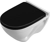 Унитаз подвесной Sanita Luxe Attica Black SL / ATCSLWH0110 -