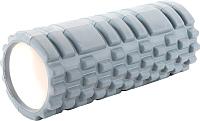 Валик для фитнеса массажный Bradex Туба SF 0335 (серый) -