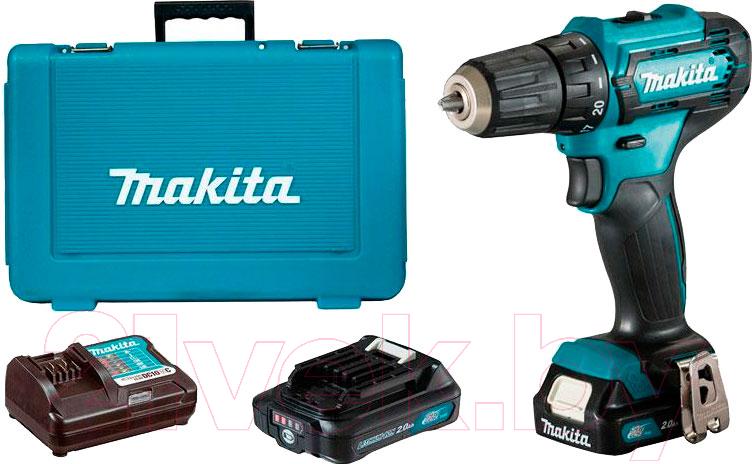 Купить Профессиональная дрель-шуруповерт Makita, DF333DWAE, Китай