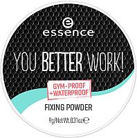 Фиксирующая пудра для лица Essence You Better Work! Fixing Powder (9г) -
