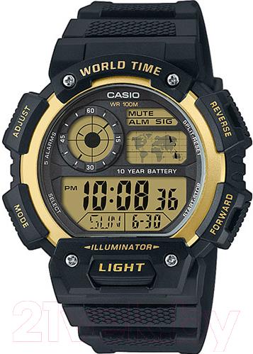 Купить Часы наручные мужские Casio, AE-1400WH-9AVEF, Китай