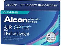 Контактная линза Air Optix HydraGlyde Sph-10.00 R8.6 D14.2 -