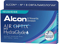 Контактная линза Air Optix HydraGlyde Sph+1.5 R8.6 D14.2 -