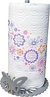 Держатель бумажных полотенец GALA AK012-SY (серебристый) -