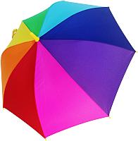 Зонт-трость Ame Yoke L 542-1 (оранжевый/желтый/салатовый) -