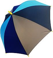 Зонт-трость Ame Yoke L 542-2 (синий/серый/голубой) -