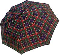 Зонт складной Ame Yoke AV 551СН-2 (красный/синий/клетка) -