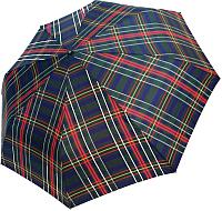 Зонт складной Ame Yoke RB 58 CH-3 (красный/зеленый/клетка) -