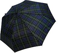 Зонт складной Ame Yoke ОК58-НВ-СН-1 (зеленый/клетка) -