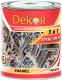 Эмаль Dekor 3 в 1 алкидная (1.9кг, серый) -