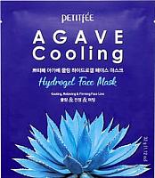 Маска для лица гидрогелевая Petitfee Agave Cooling Hydrogel Face Mask -