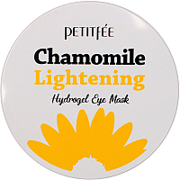 Патчи под глаза Petitfee Chamomile Lightening Hydrogel Eye Mask (60шт) -