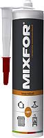 Герметик силиконовый Mixfor HiTemp +250C (280мл, красный) -
