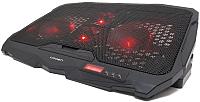 Подставка для ноутбука Crown CMLS-01 (черный/красный) -