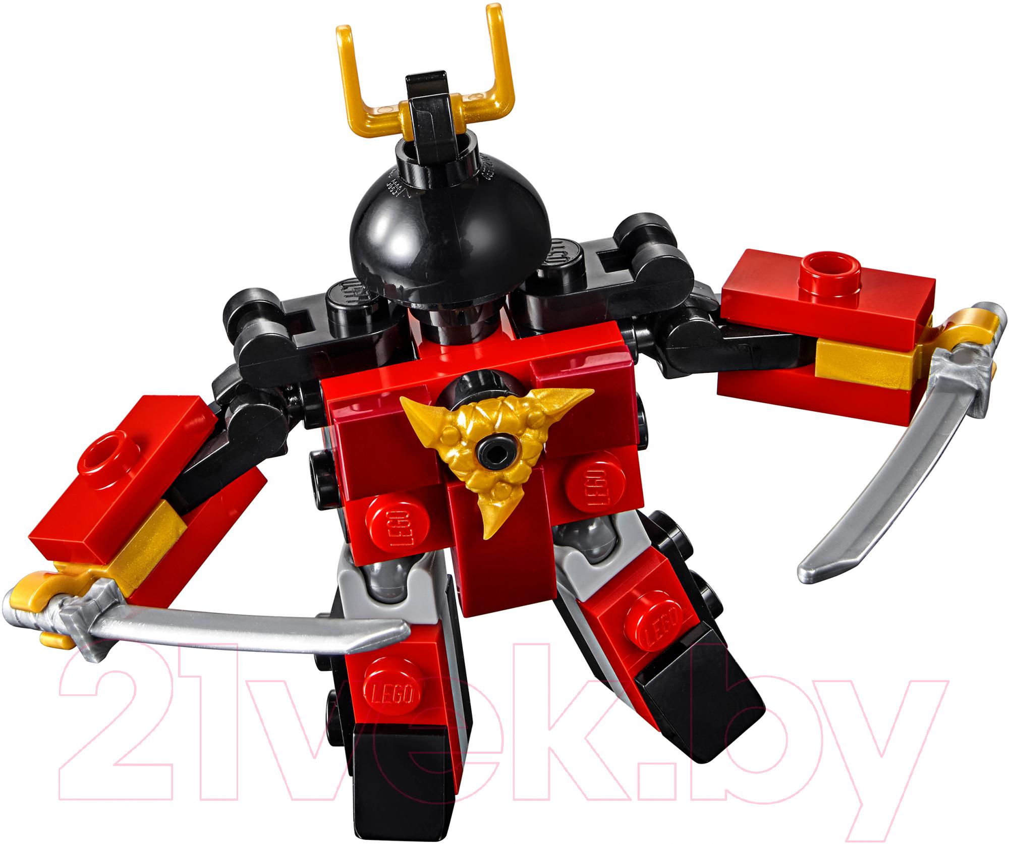 Купить Конструктор Lego, Ninjago Самурай X 30533, Китай, пластик