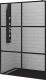 Душевая стенка RGW WA-11-B / 32101111-84 (110x200, прозрачное стекло/черный) -