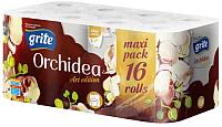 Туалетная бумага Grite Orchidea Art Edition (16рул, трехслойная) -