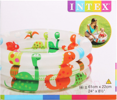 Надувной бассейн Intex Динозавр 57106NP