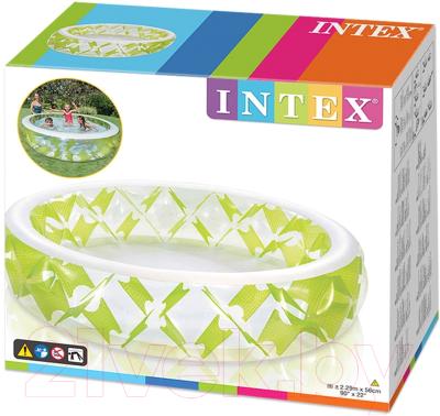 Надувной бассейн Intex Pinwheel 57182NP