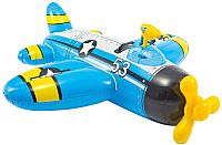 Надувная игрушка для плавания Intex Самолет / 57537NP (голубой) -