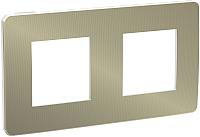 Рамка для выключателя Schneider Electric Unica NU280450 -