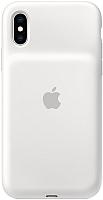Чехол-зарядка Apple Smart Battery Case для iPhone XR White / MU7N2 -