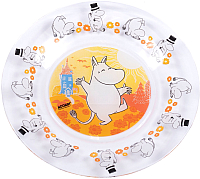 Тарелка закусочная (десертная) ОСЗ Муми-тролли / 16с19144ДЗ -