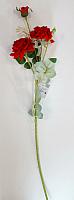Искусственный цветок Orlix Ветка розы / 06-138-V -