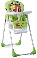 Стульчик для кормления Lorelli Tutti Frutti Green Worm (10100261926) -