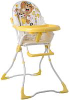 Стульчик для кормления Lorelli Marcel Yellow Bears (10100321930) -