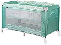 Кровать-манеж Lorelli Verona 2 Green Lines (10080261943) -