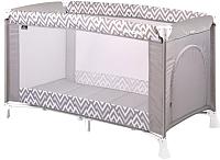 Кровать-манеж Lorelli Verona 1 Grey Lines (10080251941) -
