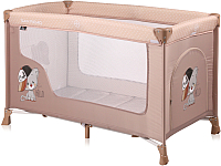 Кровать-манеж Lorelli San Remo 1 Beige Cool Cat (10080011935) -