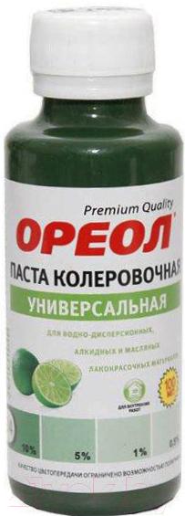 Купить Колеровочная паста Ореол, 24 (100мл, зеленый), Россия