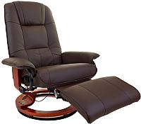 Массажное кресло Calviano 2159 с пуфом -
